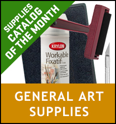 Supply Catalog of the Month General Art SUpplies