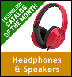Technology Catalog of the Month Headphones & Speakers
