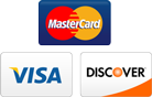 Mastercard Visa and Discover Cards Accepted Online