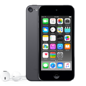 16GB Space Gray iPod TouchWas $199