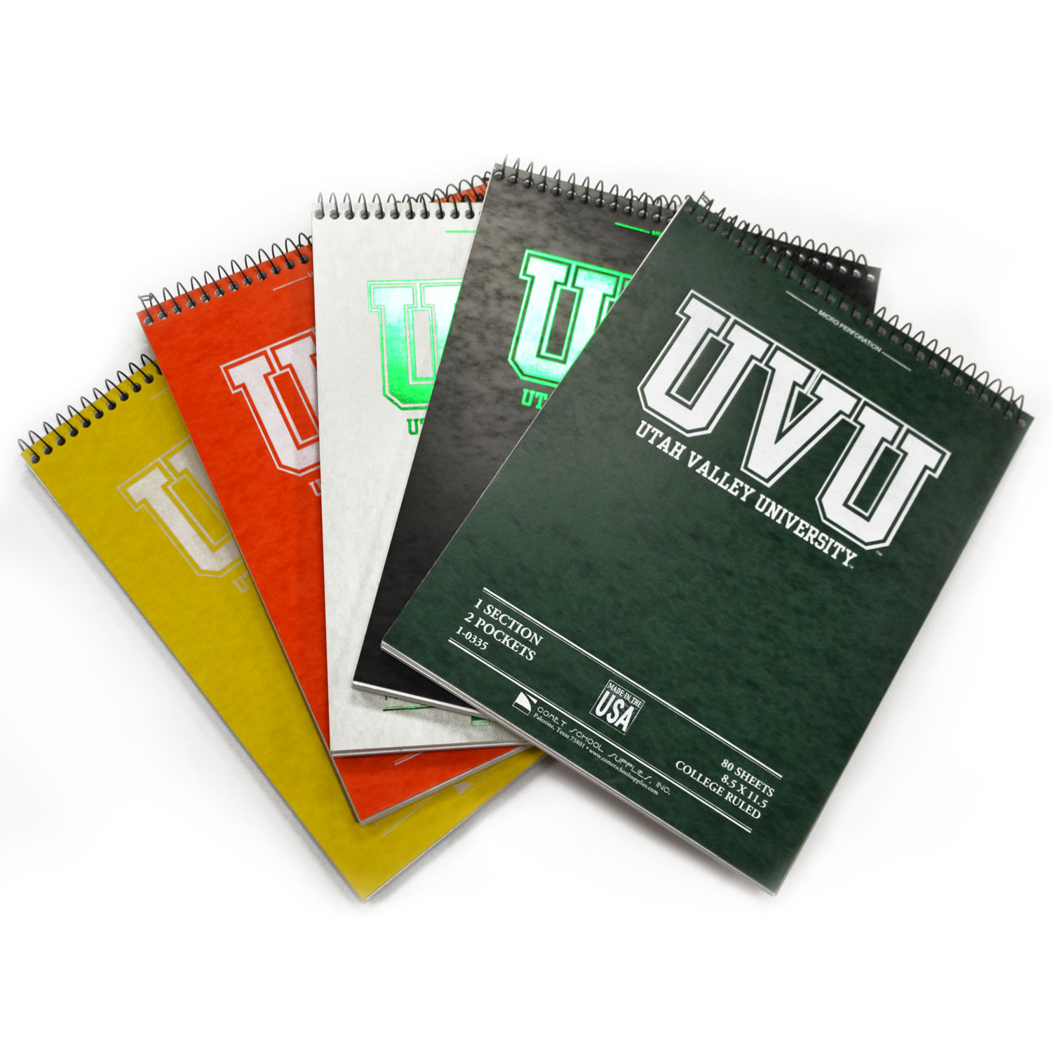 UVU top bound notebook