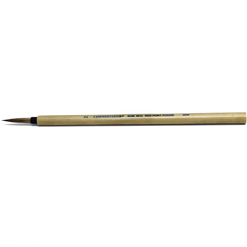 Connoisseur Sumi Brush#2 Round Bamboo