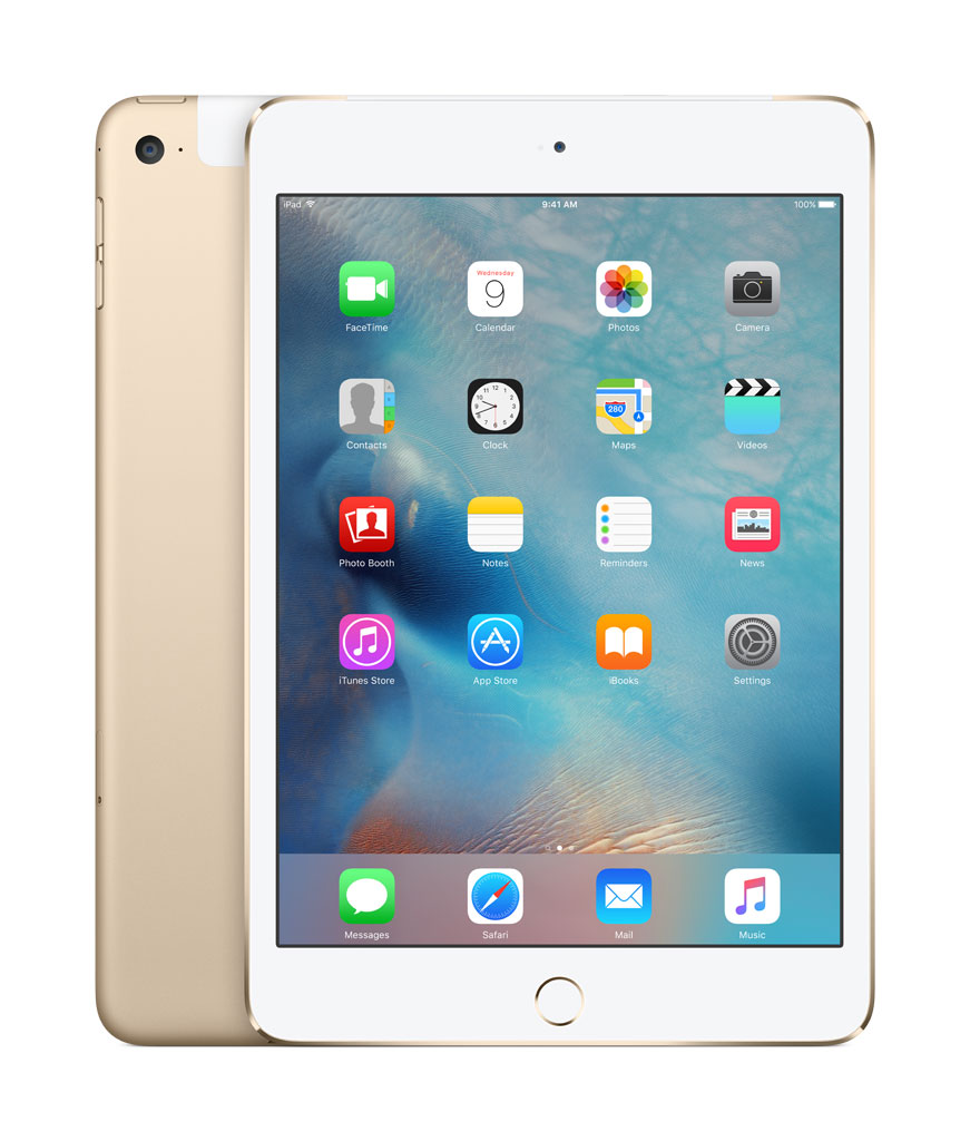 iPad mini 4128GB Gold