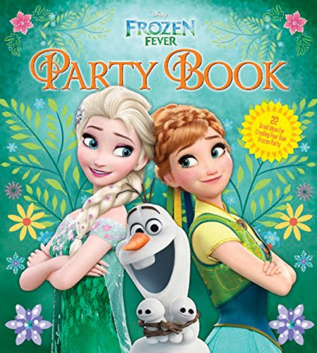 Disney FrozenFever Party Book