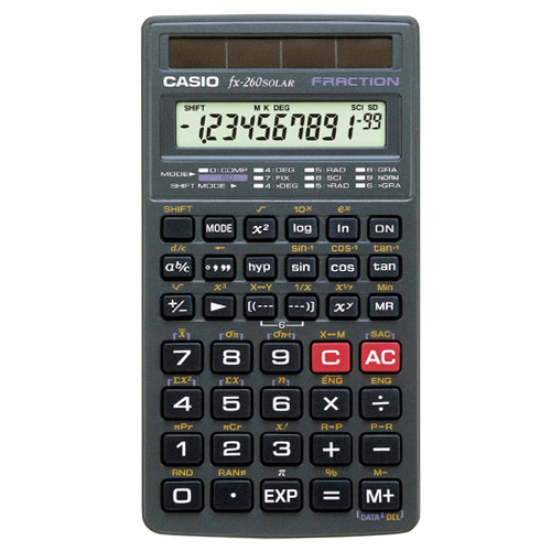 Casio FX-260Solar Scientific Calculator