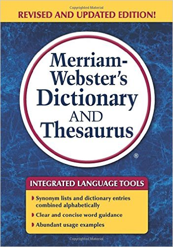 M-W Dictionary& Thesaurus(Revised)