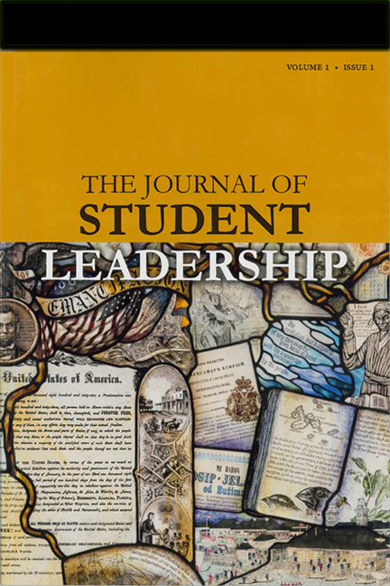 The Journal ofStudent LeadershipVolume 1 Issue 1