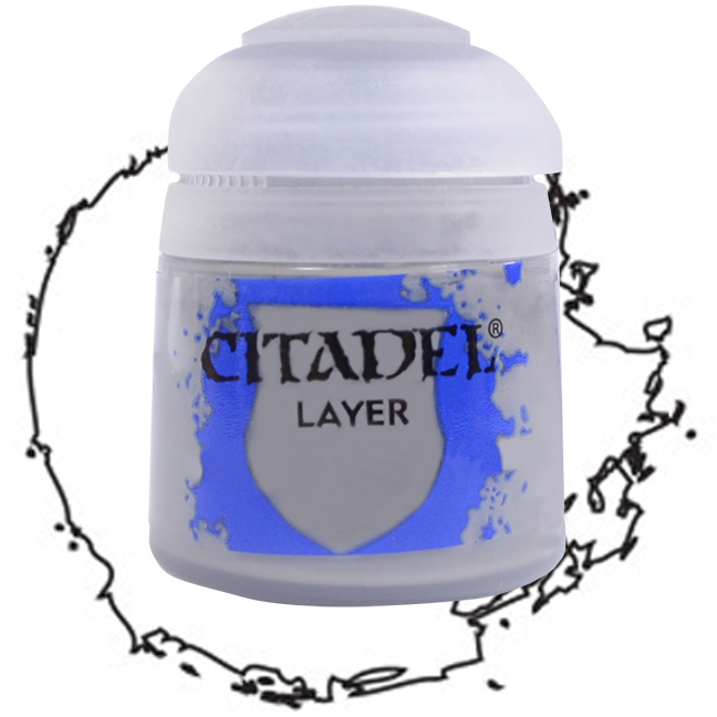Citadel Layer PaintWhite Scar