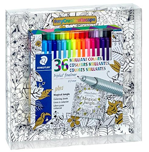 36 Pen Setw/ Coloring Book $15 Off