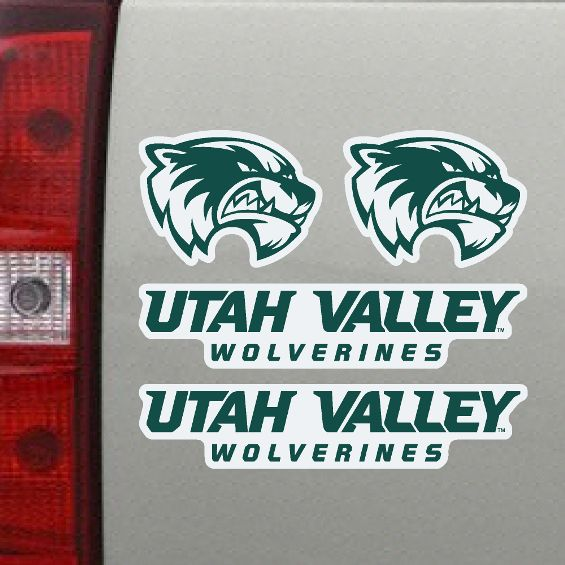 "Utah Valley Wolverines5.5""x 5"" Magnet Sheet"