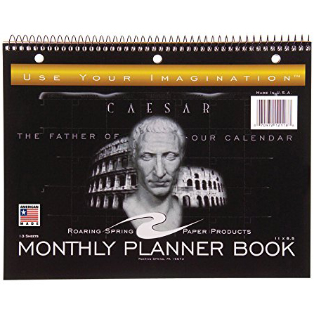 Roaring Spring Paper ProductsMonthly Planner Book
