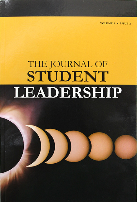 The Journal ofStudent LeadershipVolume 1 Issue 2