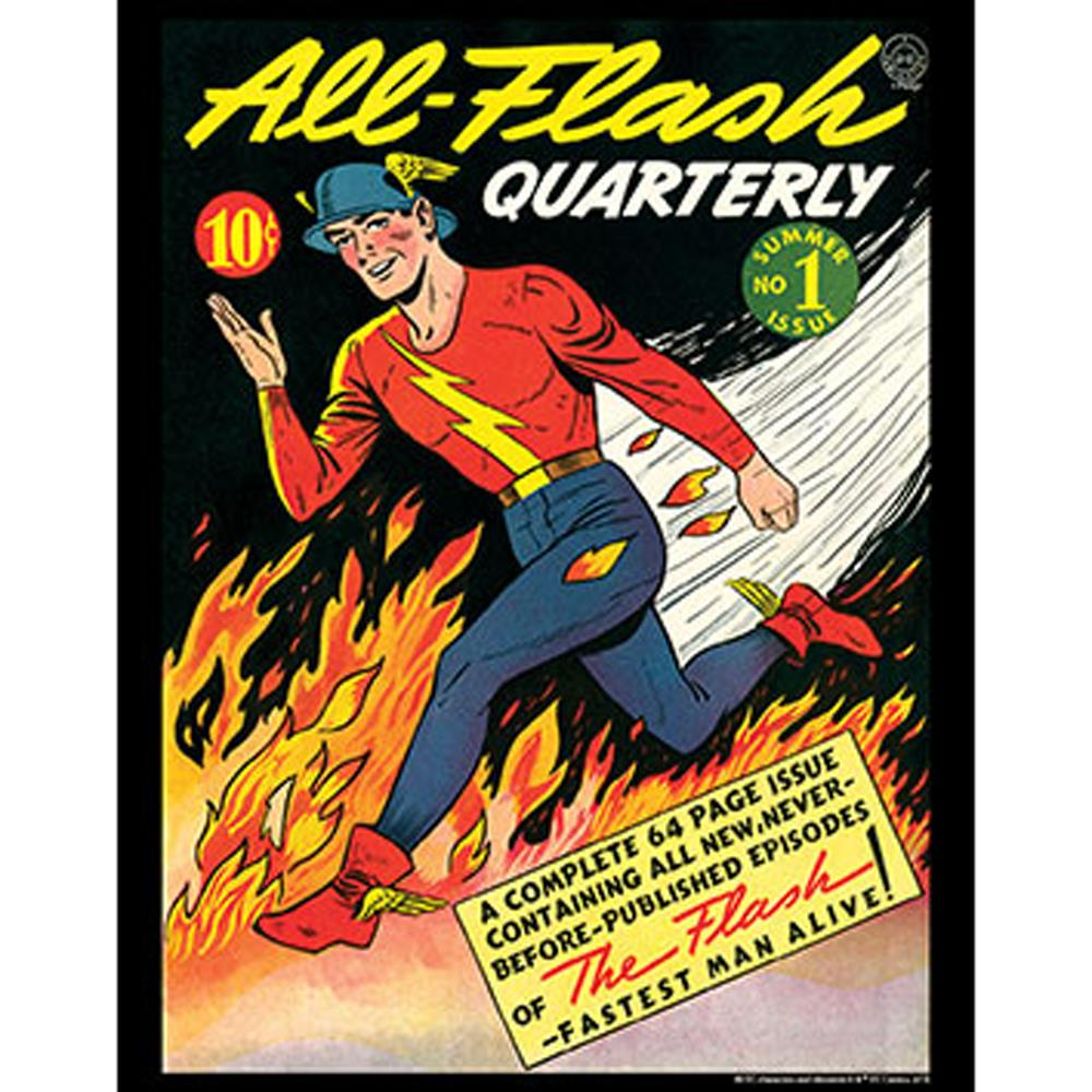 "All-Flash Quarterly #1  11x14"" Poster Print"