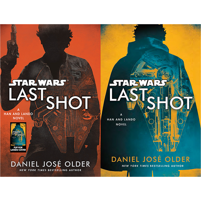 Last Shot:A Han & Lando NovelReversible Dust Jacket