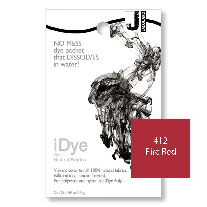 iDye Fabric Dye - Fire Red