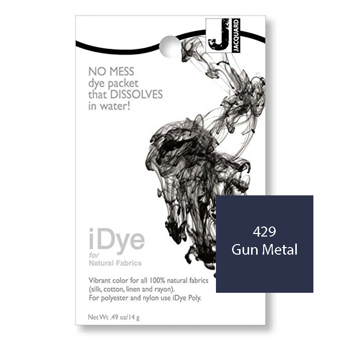iDye Fabric Dye - Gun Metal