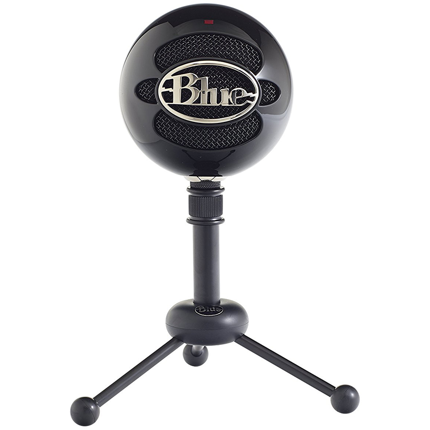 Blue SnowballCondenser MicrophoneGloss Black