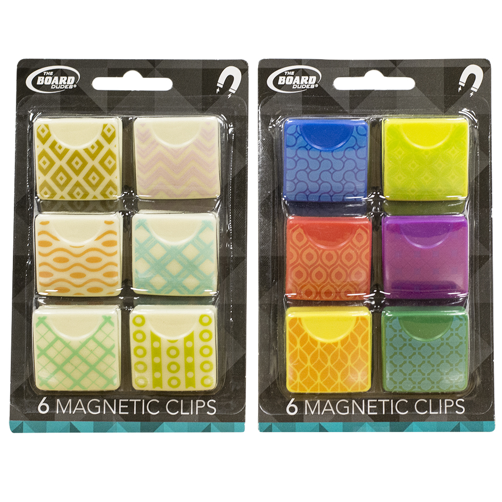 Magnetic Clips6 Piece