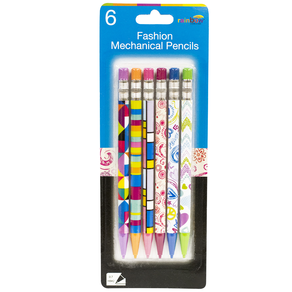 FashionMechanical Pencils6 Pack