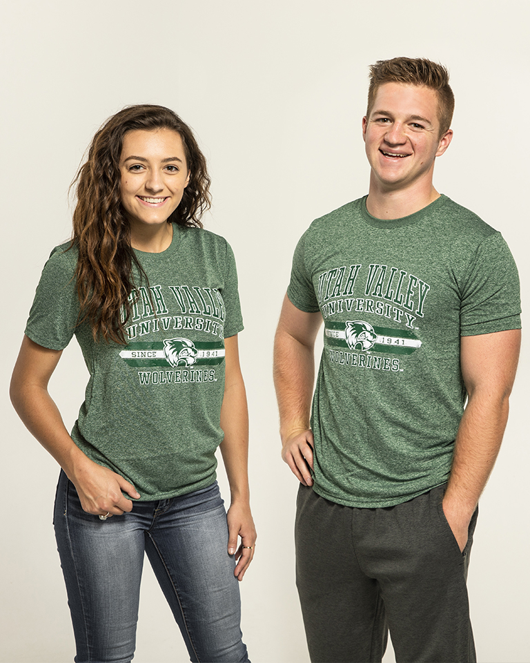 Wolverine Athletic TeeForest Heather