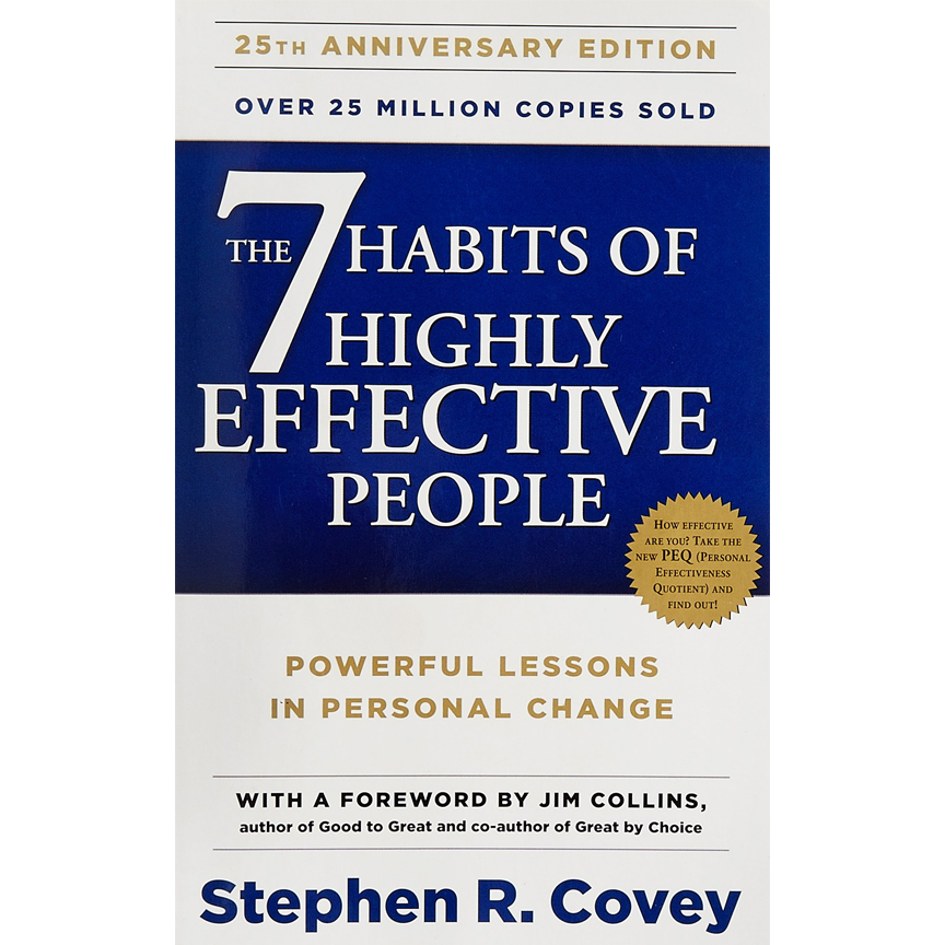 The 7 Habits ofHighly Effective PeopleStephen Covey