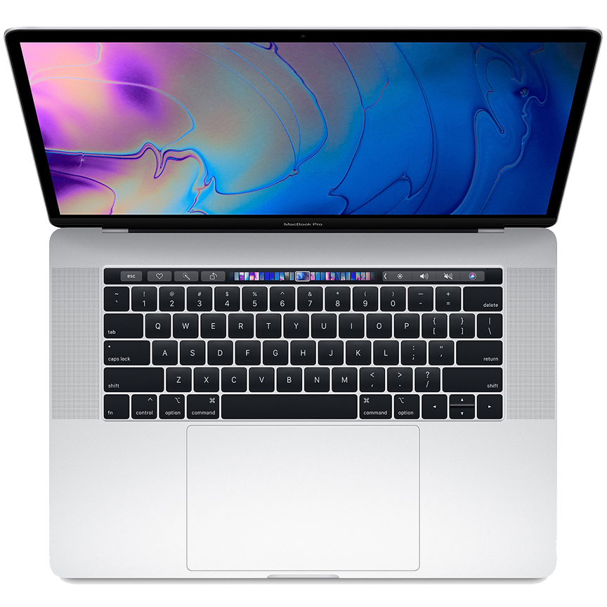 "2018 MacBook Pro 15""256GB SilverTouchbar"
