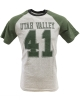 MV Sport Baseball Tee Heather Gray/Forest Green thumbnail