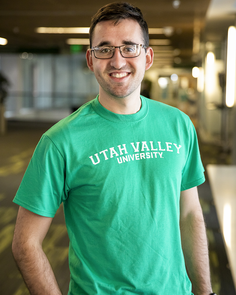 Kelly Green Utah Valley University Tee