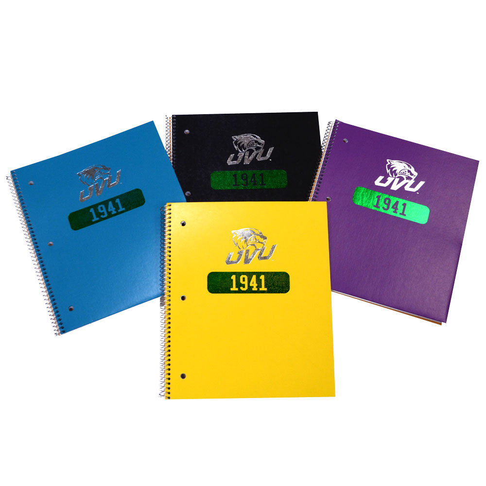 Image For 1941<br>1 Subject Notebook<br>Assorted Colors