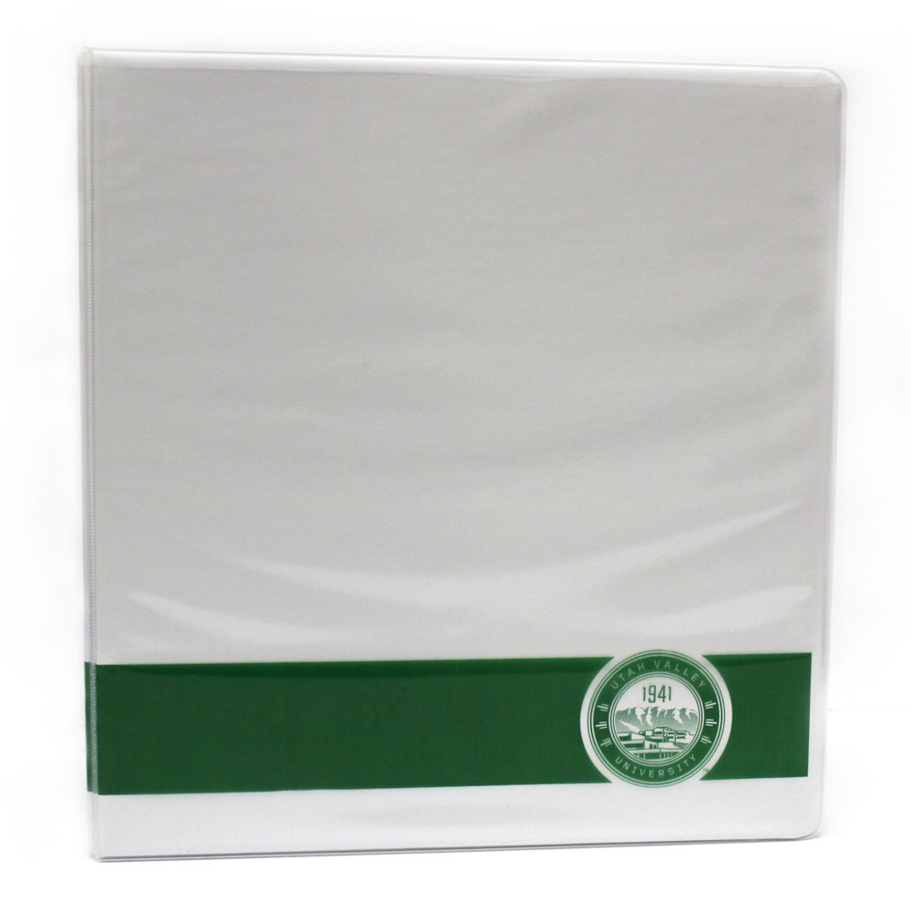 Cover Image For UVU View Binder