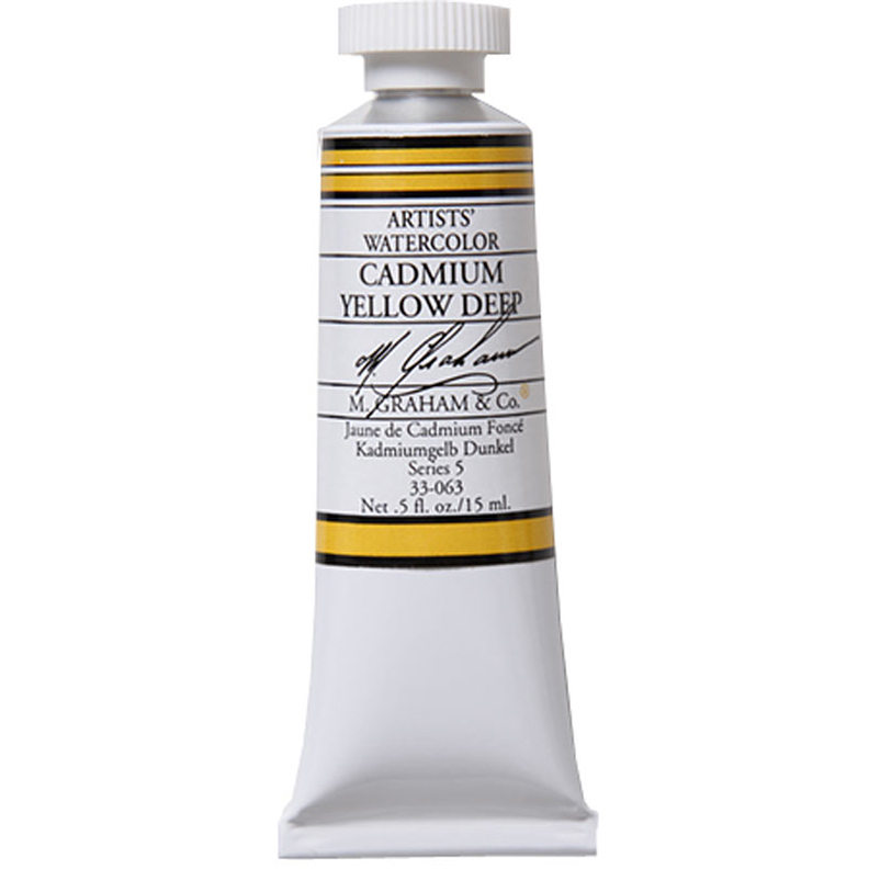 Cover Image For M. Graham Watercolor<BR>Cadmium Yellow Deep<br>0.5oz