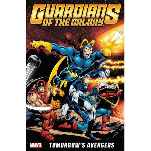 Image For Guardians of the Galaxy<br>Tomorrow's Avengers Vol 1