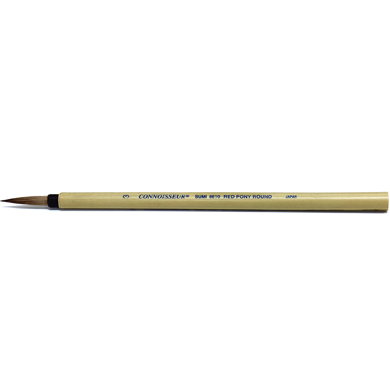 Image For Connoisseur Sumi Brush<br>#3 Round Bamboo