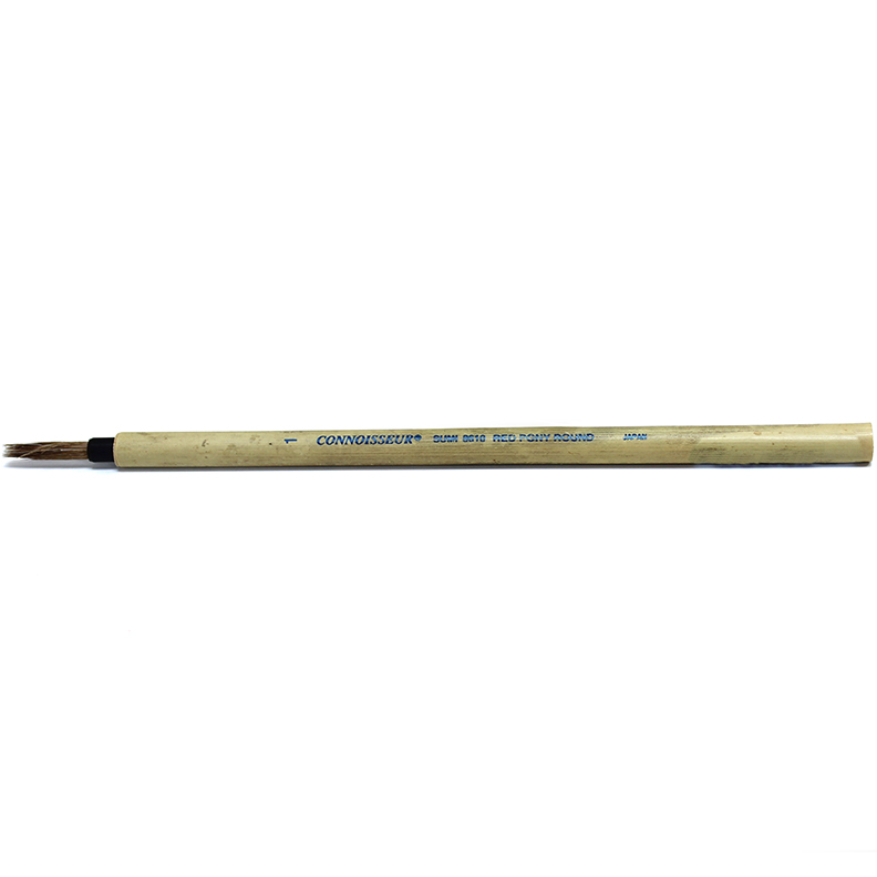 Image For Connoisseur Sumi Brush<br>#1 Round Bamboo