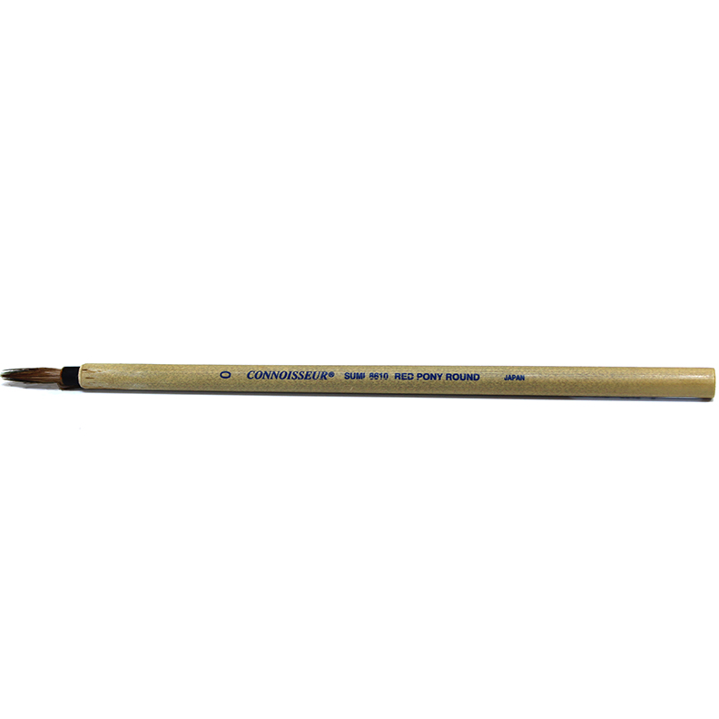 Image For Connoisseur Sumi Brush<br>#0 Round Bamboo