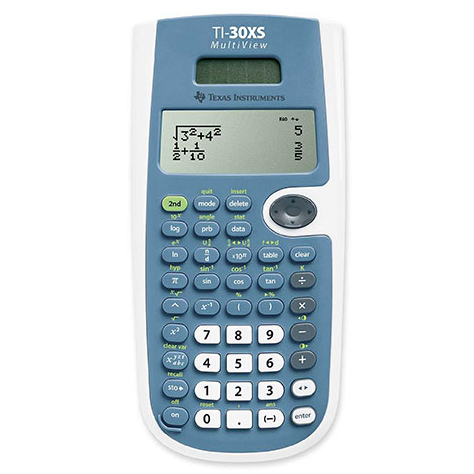 Cover Image For TI-30XS MultiView™ Scientific Calculator