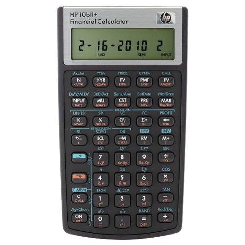 Cover Image For HP 10bII+ Financial Calculator