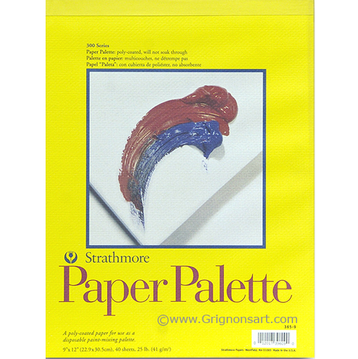 "Image For Strathmore Palette Paper<br>9""x12"""