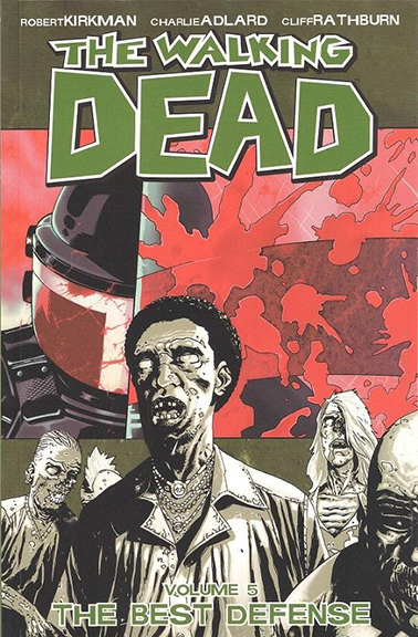 Image For The Walking Dead, Vol. 5,<br>The Best Defense