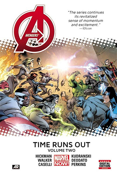 Image For Avengers:<br>Time Runs Out<br>Volume 2