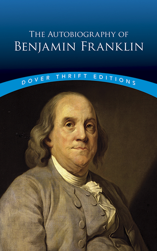 Cover Image For The Autobiography<br>of Benjamin Franklin