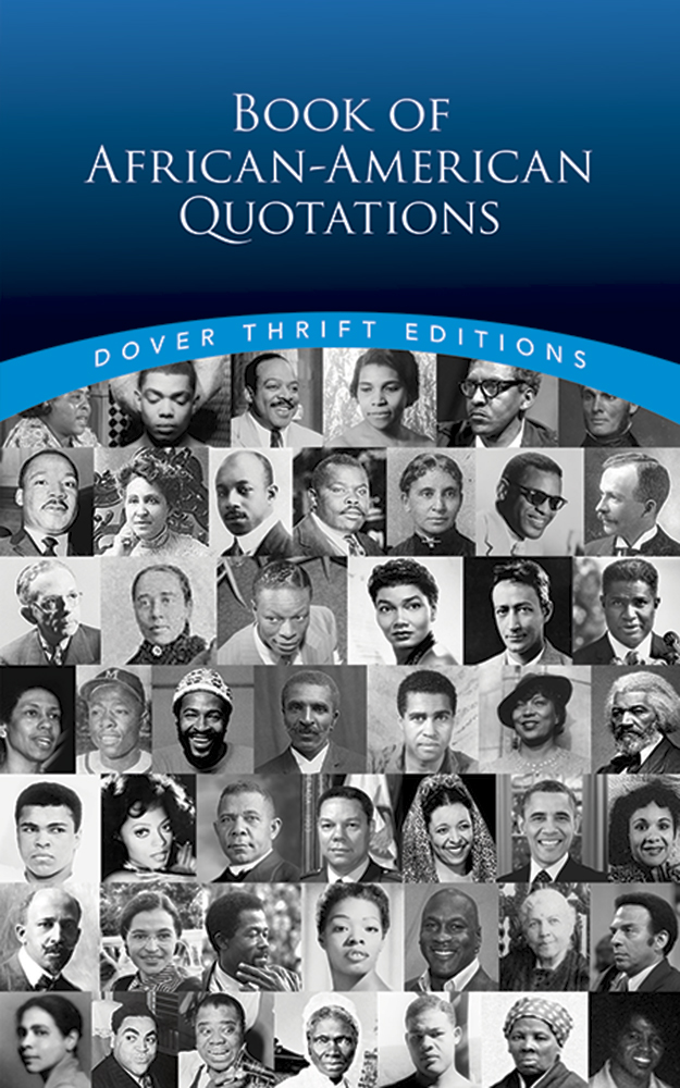 Image For Book of<br>African-American<br>Quotations