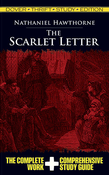 Image For The Scarlet Letter<br>Nathaniel Hawthorne<br>Thrift Study