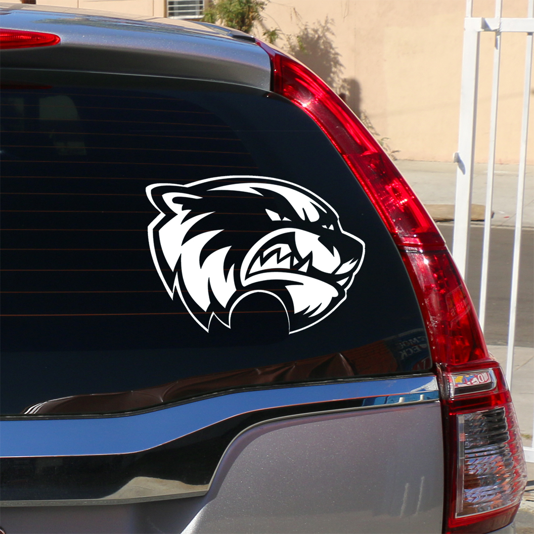 "Cover Image For UVU White<br>Clear 12"" Decal"