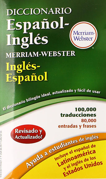 Image For Diccionario Espanol-Ingles<br>Merriam-Webster