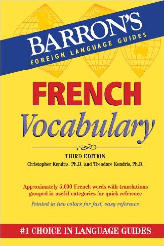 Image For Barron's French Vocabulary