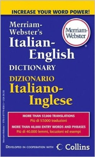 Image For M-W Italian-English<br>Dictionary