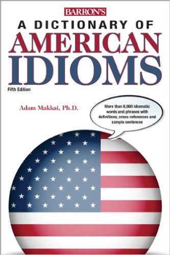 Image For Barron's Dictionary<br>of American Idioms
