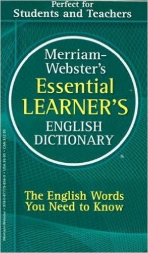Image For M-W Essential Learner's<br>English Dictionary