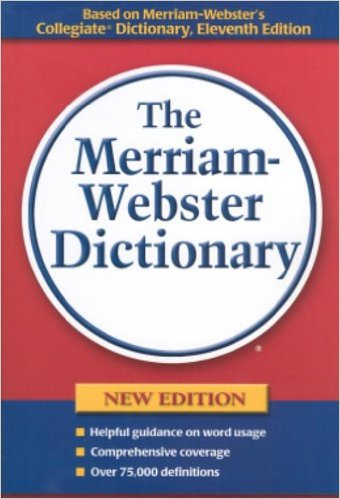 Image For The Merriam<br>Webster Dictionary<br>Trade Paperback